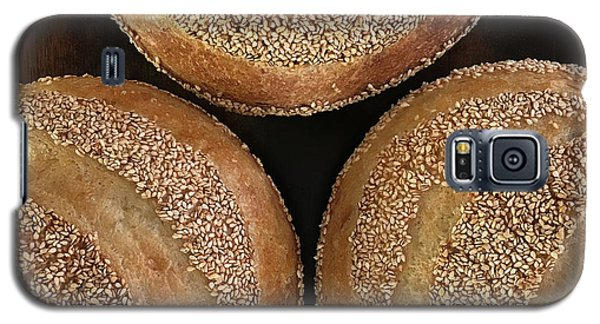 Sesame Seed Stripes 3 Galaxy S5 Case