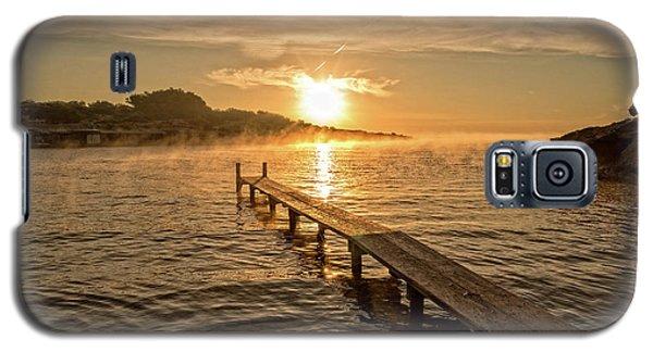 Sespanyol Beach In Ibiza At Sunrise, Balearic Islands Galaxy S5 Case