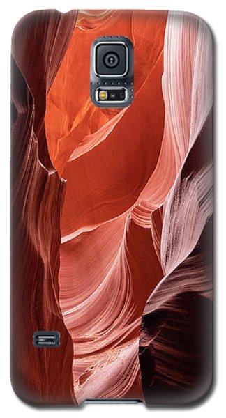 Shades Of Orange, Lower Antelope Canyon, Az Galaxy S5 Case