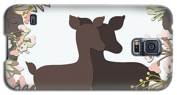 Shadowbox Deer Galaxy S5 Case