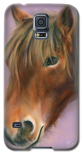 Shaggy Brown Pony Galaxy S5 Case