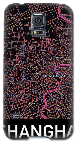 Shanghai City Map Galaxy S5 Case