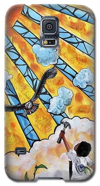 Galaxy S5 Case - Shattered Skies by Artist RiA