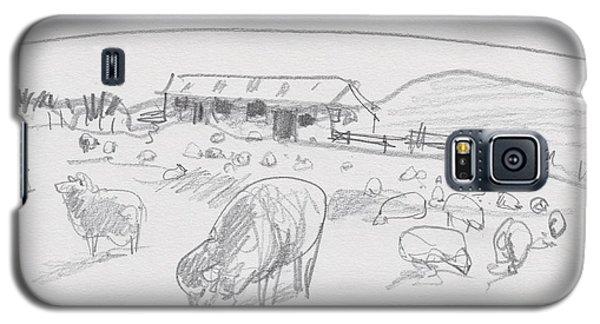 Sheep On Chatham Island, New Zealand Galaxy S5 Case