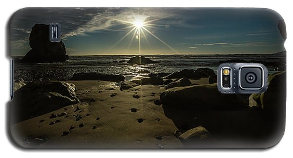 Shell Beach Sunburst Galaxy S5 Case