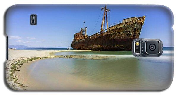Shipwreck Dimitros Near Gythio, Greece Galaxy S5 Case