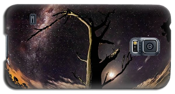 Shooting Stars And Milky Way Galaxy S5 Case