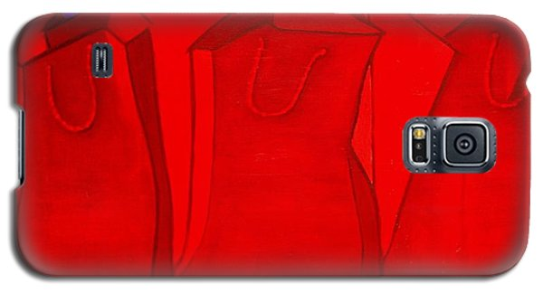Shopping In Red Galaxy S5 Case