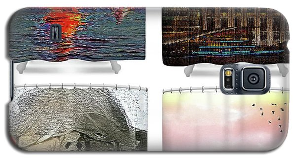 Shower Curtains Samples Galaxy S5 Case