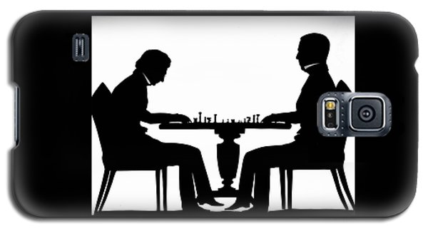 Silhouette Of Chess Players, Around 1845 Galaxy S5 Case