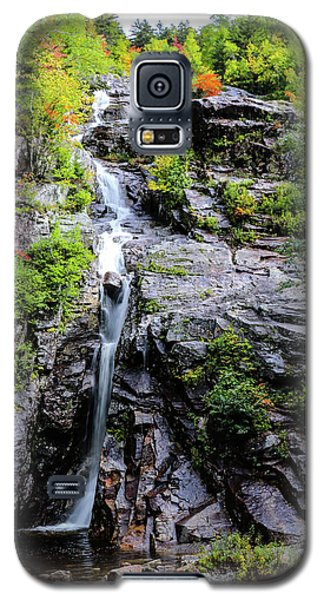 Silver Cascade New Hampshire Galaxy S5 Case