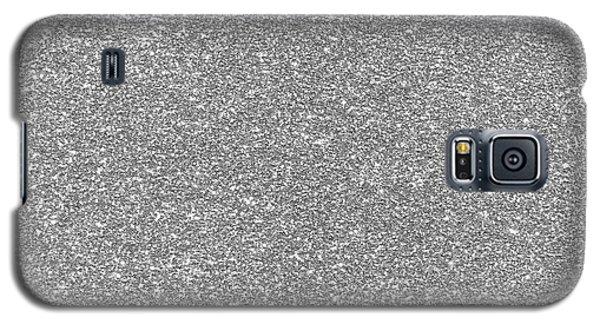 Silver Glitter  Galaxy S5 Case