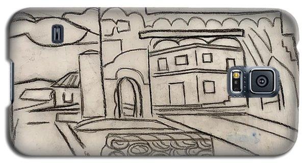 Sketch Of Arch Laguna Del Sol Galaxy S5 Case