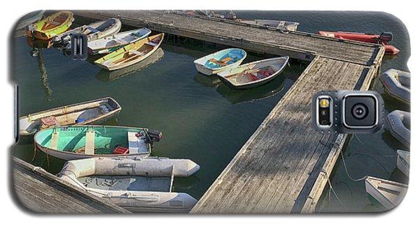 Skiffs In Rockland Harbor Galaxy S5 Case