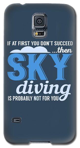 Sky Diving Galaxy S5 Case
