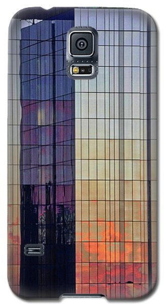 Skyscraper Sunset Galaxy S5 Case