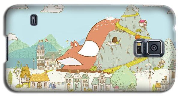 The Sleeping Fox Galaxy S5 Case