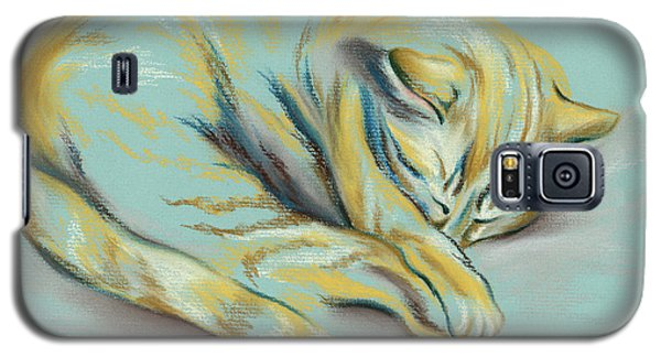 Sleeping Tabby Kitten Galaxy S5 Case