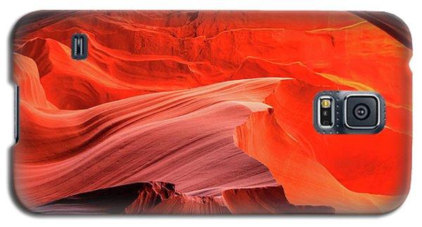 Slot Canyon Waves 1 Galaxy S5 Case