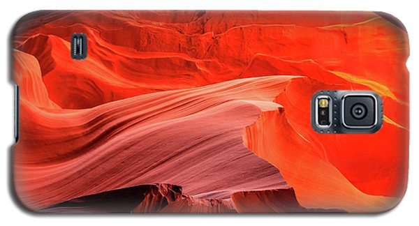 Slot Canyon Waves 1 Galaxy S5 Case