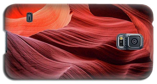 Slot Canyon Waves 2 Galaxy S5 Case