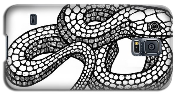 Smooth Green Snake Galaxy S5 Case