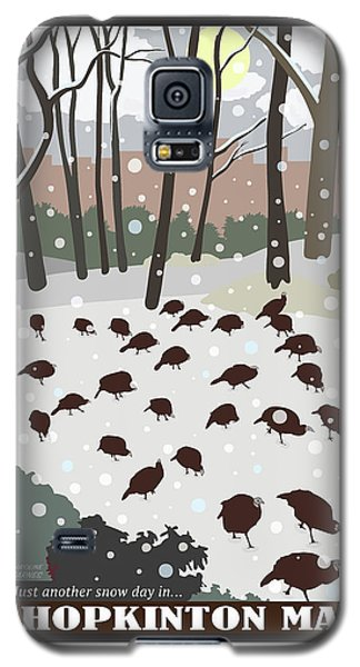 Snow Day In Hopkinton Galaxy S5 Case