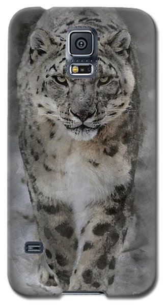 Snow Leopard II Galaxy S5 Case