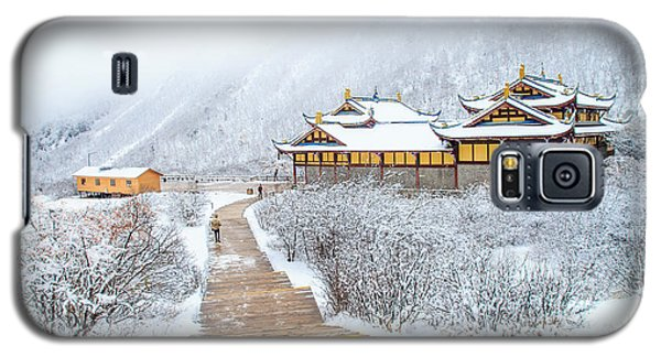 Cold Galaxy S5 Case - Snow Season In China by Phraisohn Siripool