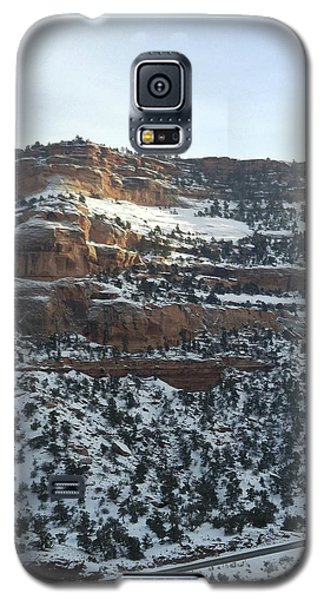 Snow Steps Galaxy S5 Case