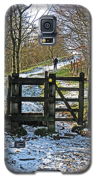 Snowy Path Galaxy S5 Case