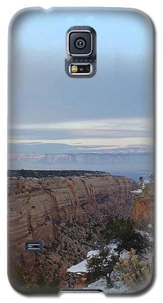 Snowy Sunset Galaxy S5 Case