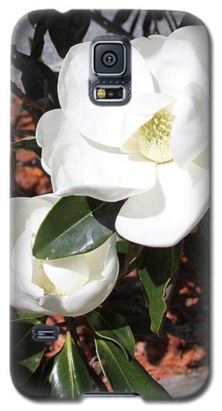 Snowy White Gardenia Blossoms Galaxy S5 Case