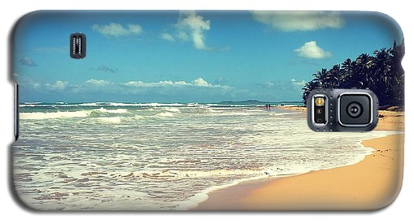 Solitude Beach Galaxy S5 Case