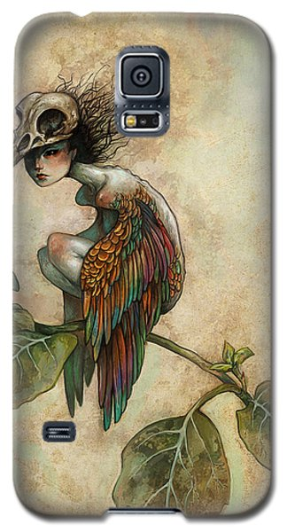 Galaxy S5 Case - Soul Of A Bird by Caroline Jamhour