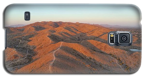 South Mountain Sunrise Galaxy S5 Case