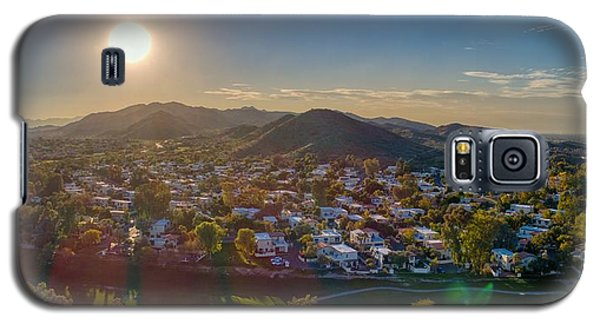 South Mountain Sunset Galaxy S5 Case