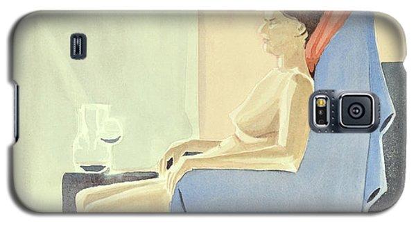 Sovande Sittande Sitting Asleep 2013 06 15-16_0091 4 Mb Up To 61x91 Cm  Galaxy S5 Case