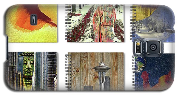 Spiral Notebooks Samples Galaxy S5 Case