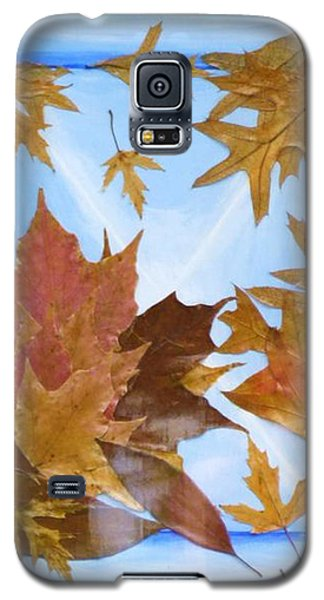 Splattered Leaves Galaxy S5 Case