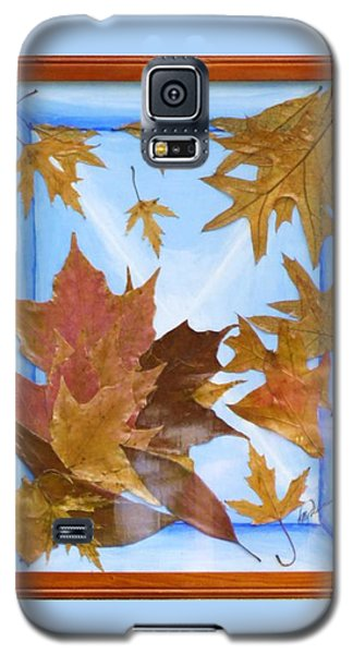 Splattered Leaves Galaxy S5 Case