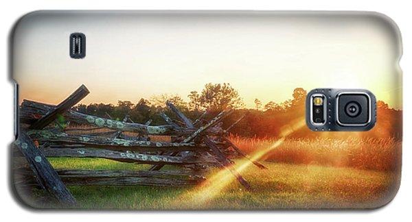 Split-rail Sunset Galaxy S5 Case