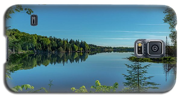 Spring Morning On Grand Sable Lake Galaxy S5 Case