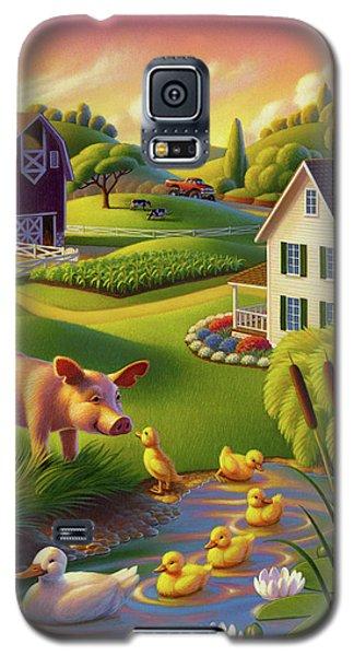 Spring Pig Galaxy S5 Case