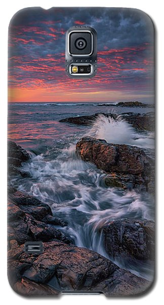 Spring Sunrise At Marginal Way Galaxy S5 Case