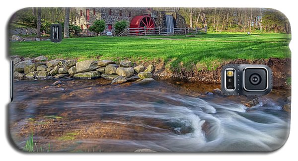 Springtime At The Grist Mill Galaxy S5 Case