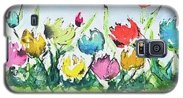 Springtime Tulips Galaxy S5 Case