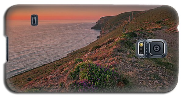 St Agnes Sunset Galaxy S5 Case