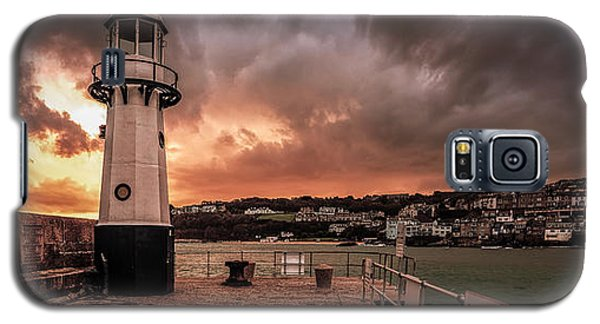 St Ives Cornwall - Lighthouse Sunset Galaxy S5 Case
