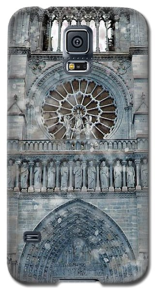 St Joan Of Arc Watch Over Notre Dame Galaxy S5 Case